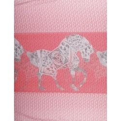 Chal equestre II Rojo