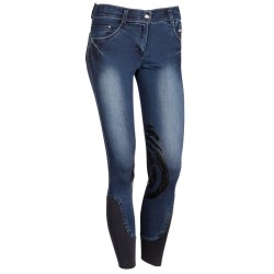 Pantalones de montar Dirty Denim grip