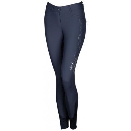 Pantalones de Montar Elite Silicona Grip