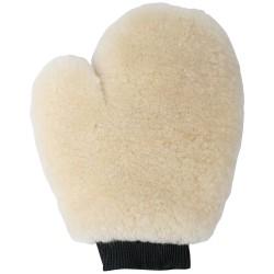 Guante limpieza de lana oveja Merino