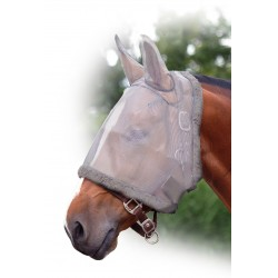 Máscara antimoscas con proteccion orejas QHP