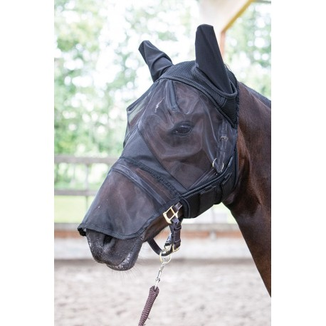 Máscara antimoscas FlyShield proteccion fosa nasal